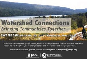 Watershed Connections Conference
